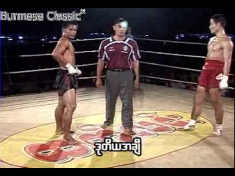Thai vs Myanmar (Win Tin- golden belt champion) 2011 fight 2