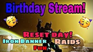 (PS4)#Destiny2 Birthday help stream outbreak-Raids & More Chill Like & Subscribe For more