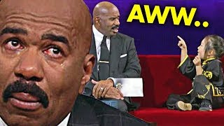 This Kid Made Steve Harvey Cry... After She...
