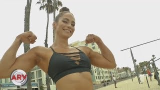 ⭐️NPC Figure Janice Garay featured on television again in New York City