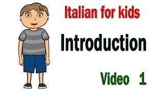 Leran Italian with Joey:1 Introduction
