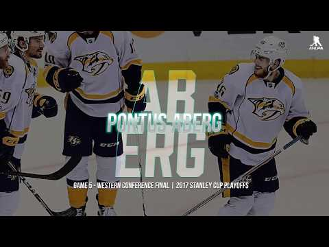 Pontus Aberg | Playoff Performer of the Night