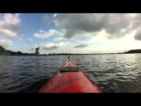 GoPro Kayaking in Groningen, The Netherlands (65daysofstatic - Radio Protector)
