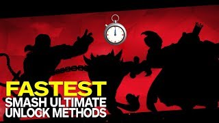 Super Smash Bros. Ultimate: How to Unlock Every Character (Fastest Method)
