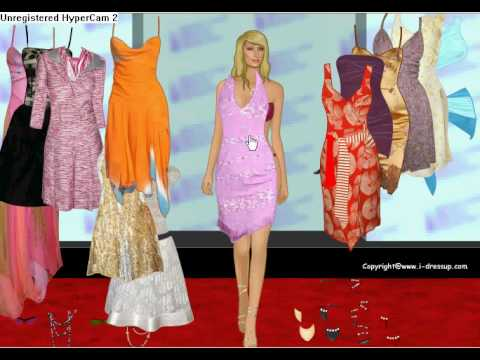 free paris hilton dress up games