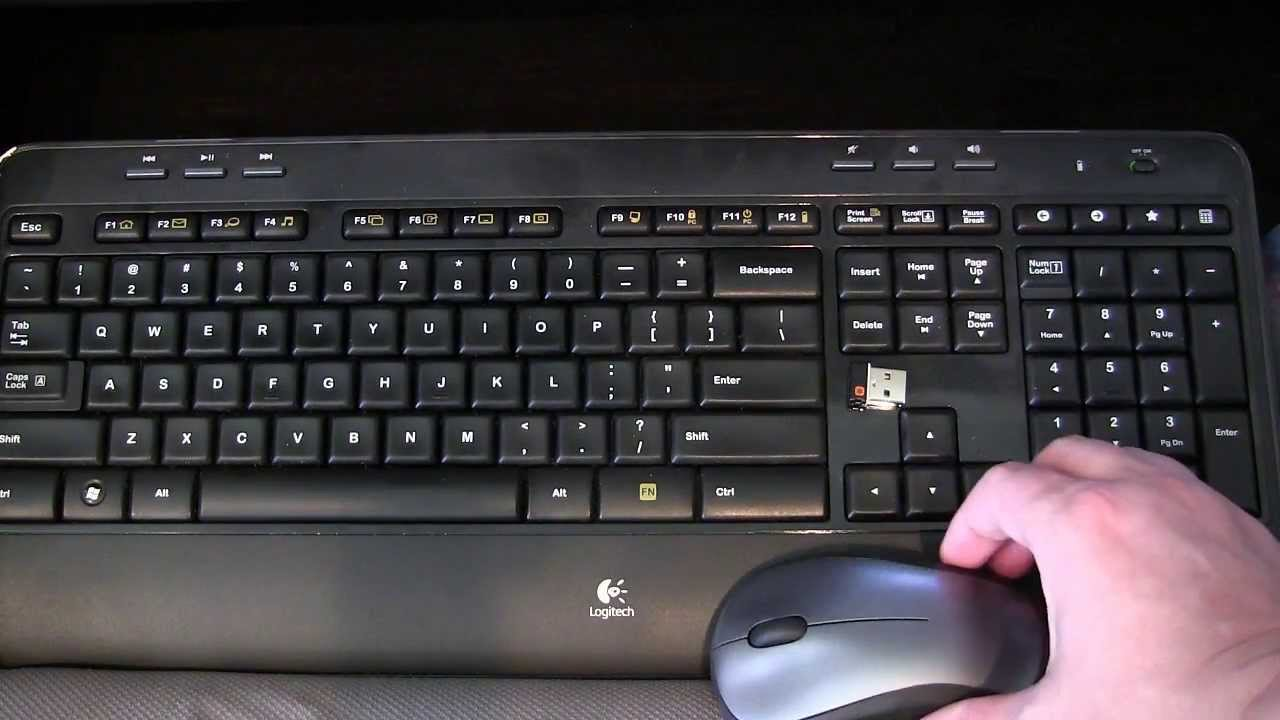 Using the keyboard and mouse