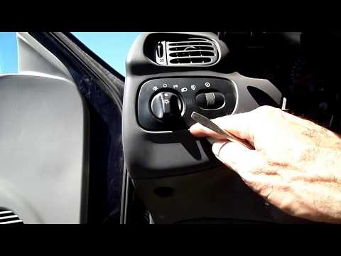 Ford F 150 Instrument Cluster/Headlight Switch Removal
