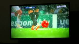 Galatasaray vs Juventus  Match suspended