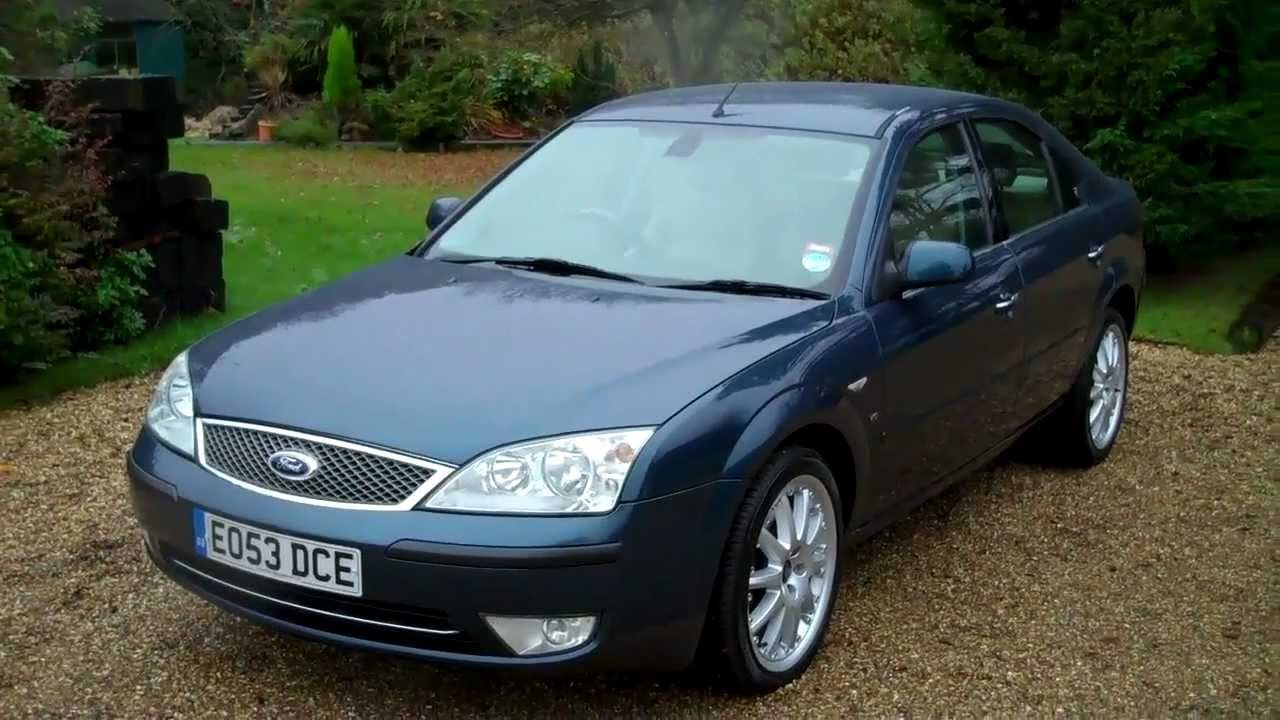 03 53 ford mondeo ghia x 24v automatic 5dr hatchback for sale youtube. Black Bedroom Furniture Sets. Home Design Ideas