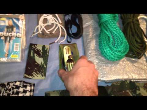Mochila sobrevivencia/Bushcraft