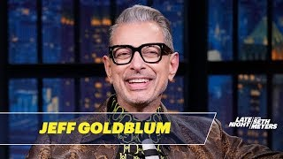 Jeff Goldblum Taped an Entire Episode About Denim on The World According to Jeff Goldblum