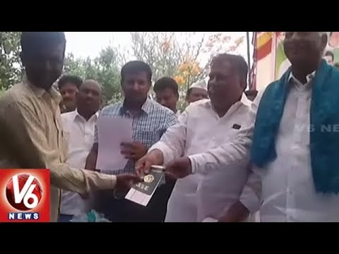 Ministers 3rd Day District Tour : Distributes Rythu Bandhu Cheques And Passbooks | V6 News
