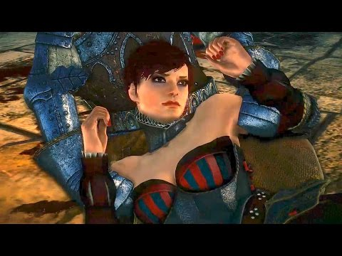 Geralt Saves Sorceress From Rape By Soldiers:  Iorveth's Path Epilogue (the Witcher 2 Ending) video