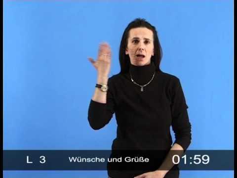 Dialog der Hände - Basiskurs der Gebärdensprache (LGB mit Beispielen): Wünsche und Grüße