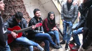 Song Performance from Syrian Youth at IMPR Humanitarian Urfa Community Center