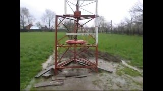 Homemade Vertical wind turbine generator 5kW, wind turbine