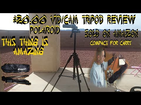 video cam tripod review $20.00 perfect set up for youtube recording...