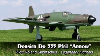 Giant Rc Dornier Do 335