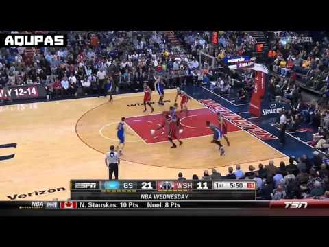 All of Steph Curry's 25 points in the first quarter