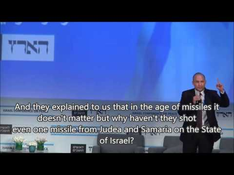 Naftali Bennett in the Leftist Lion's Den (with English subtitles)