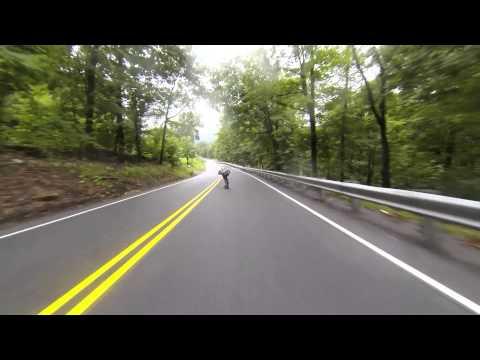 65mph Longboard Wreck