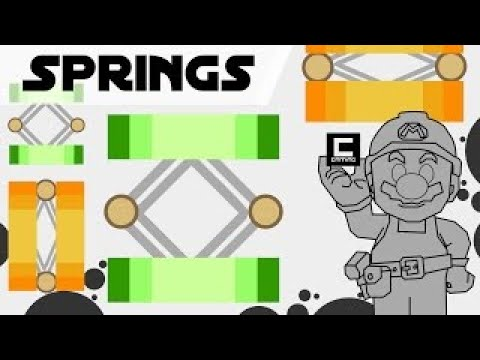 Tips, Tricks, and Ideas with Springs in Super Mario Maker or The mysterious Pirate Star