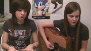Christina and Tiffany singing