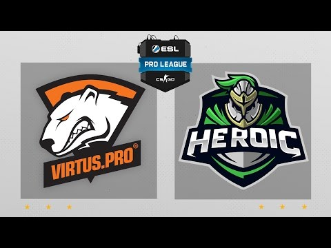 CS:GO - Virtus.pro vs. Heroic [Train] Map 2 - ESL Pro League Season 5 - EU Matchday 23