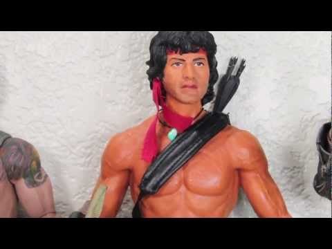 Rambo First Blood Part 2 Hot Toys John J. Rambo 1/6 Scale Collectible Movie Figure Review