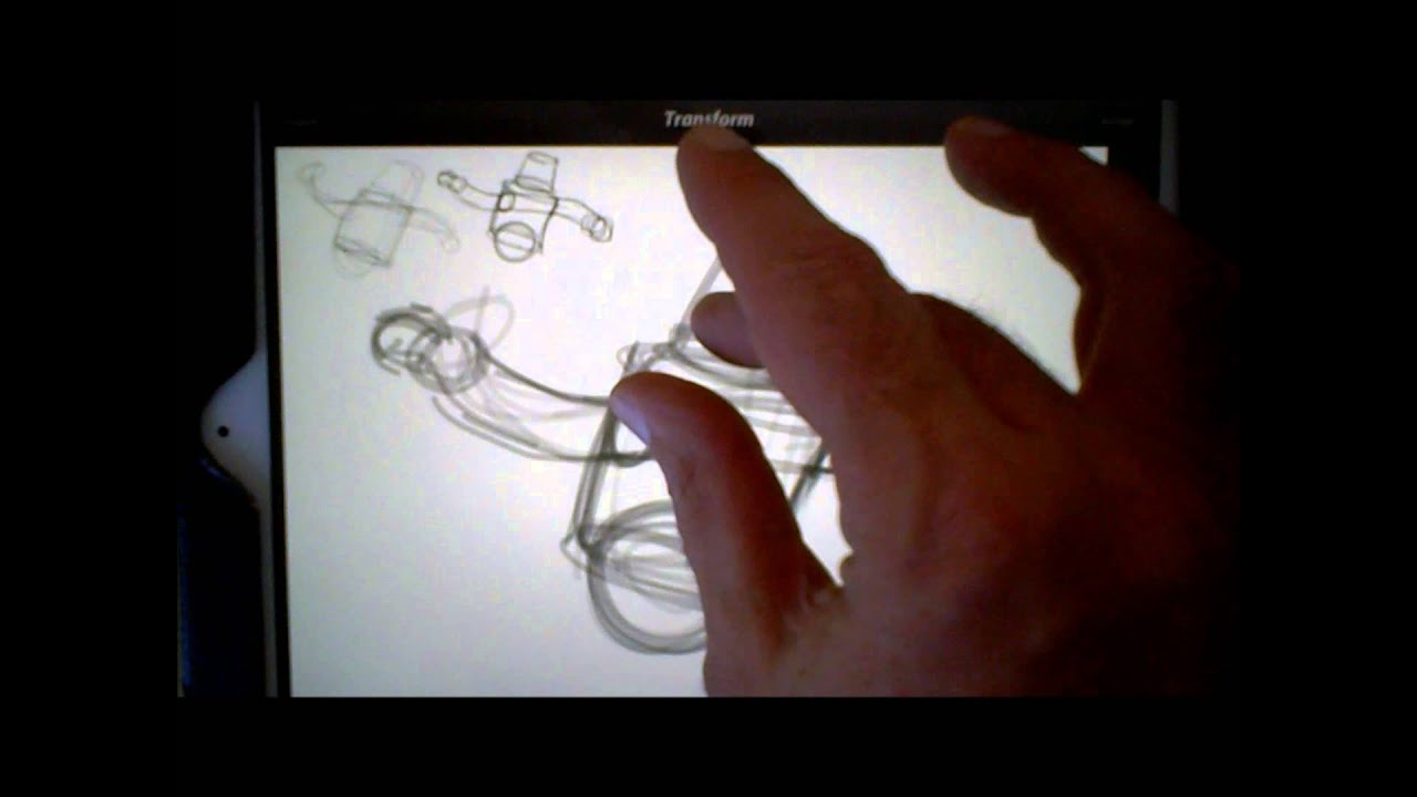 How To Draw Using Procreate App For iPad - YouTube