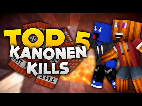 Minecraft - Top 5 TnT Kanonen Kills! | DieBuddiesZocken