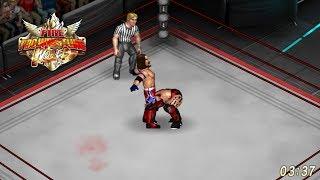 """Fire Pro Wrestling World - AJ Styles vs. """"The Demon"""" Finn Balor"""