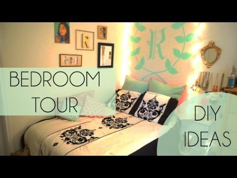 DIY| Easy Decor Ideas + Room Tour | RAVEN ELYSE