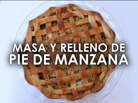 Receta de PIE DE MANZANA fácil y rico (MASA y RELLENO)