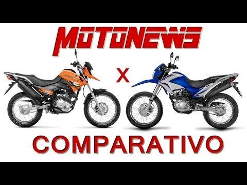COMPARATIVO YAMAHA XTZ 150 CROSSER vs HONDA NXR 150 BROS   MOTONEWS