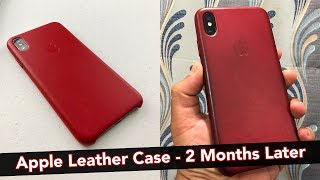 Apple Leather Case - 2 Months Later! (iPhone XS Max) 📱