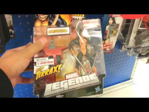 SMU Toys Target Toy Run Uncut (Power Rangers, Marvel Legends, Star Wars & More), 1/29/2014