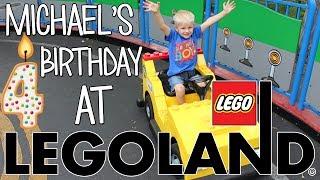 Michael's 4th Birthday Party at LEGOLAND!!