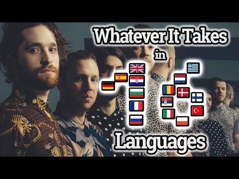 IMAGINE DRAGONS: Singing Whatever It Takes In 16 Languages With Zero Singing Skills