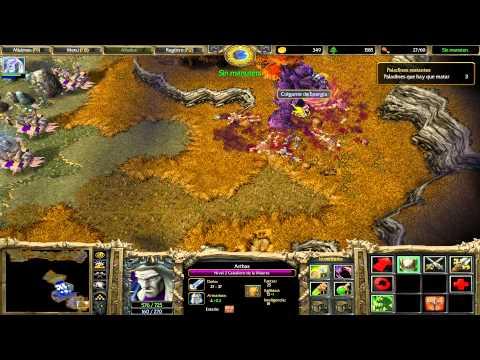Warcraft III: Reign Of Chaos - Gameplay Muertos Vivientes: Capítulo 2-Levantando A Los Muertos