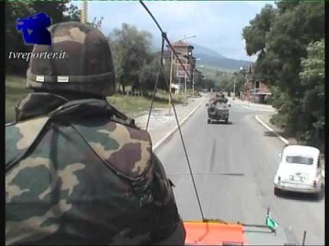 KOSOVO 1999: Militari italiani Kfor