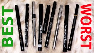 Frugal Fridayz | Battle of the Drugstore Liquid Eyeliners