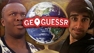 GEOGUESSR #5 with Vikkstar & JJ (GeoGuessr Challenge)