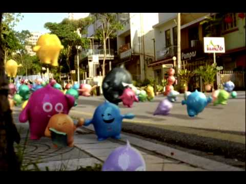 Nippon Paint Blobby - Your world Your colour