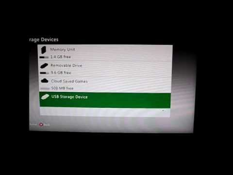 How to format a memory stick for Xbox 360