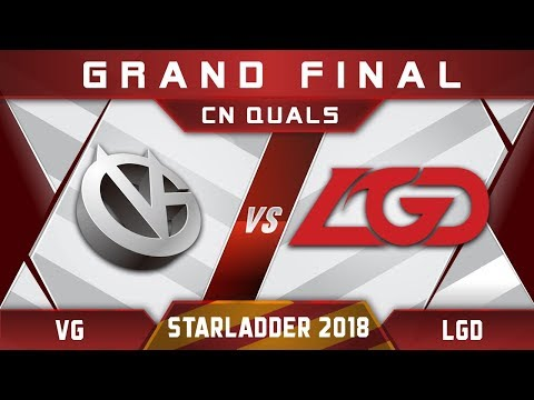 VG vs LGD Grand Final Starladder 2018 CN Highlights Dota 2