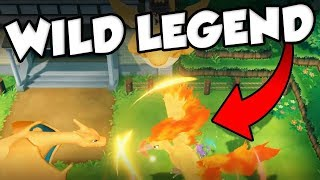(No Hacks) CATCHING MOLTRES ON ROUTE 2! WILD Legendary Birds Guide For Pokemon Let's Go