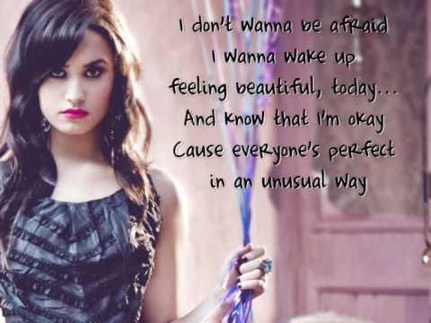 demi lovato believe in me lyrics on screen hq youtube