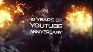 Youtube 10 Years ANNIVERSARY | Virals Mashup | Teaser