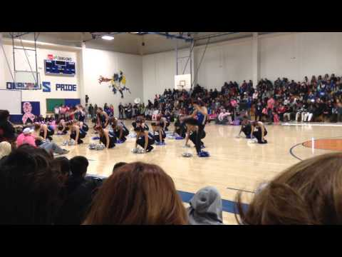 Seagoville high school peprally blazers